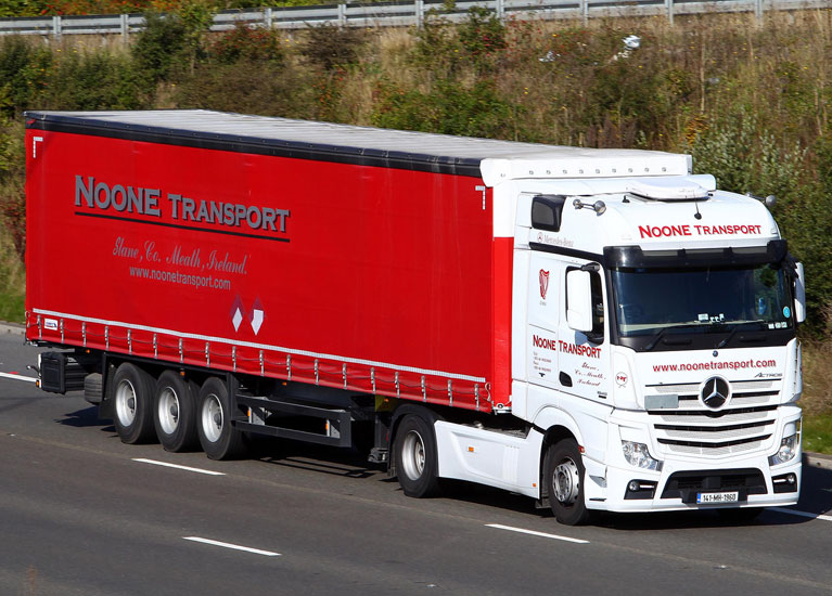 Noone Transport Euroliners and Curtainsiders